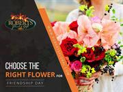 Choose the Right Flower for Friendship Day from Bismarck Florists