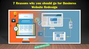 7 Reasons why you should go for Business Website Redesign