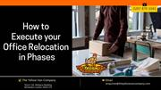 How to execute your office relocation in phases