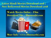Latest Hindi Movies Download New Bollywood Movies Download