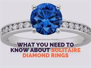 What You Need To Know About Solitaire Diamond Rings-