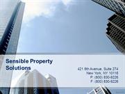 PPT for Sensible Property Solutions- 8th Aug(2)