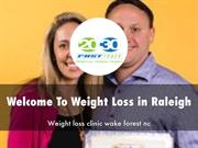 Weight Loss in Raleigh Presentation