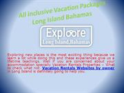 Vacation Rentals Websites by Owner