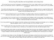 Dr.Joon Song The Links Between Staying Healthy And Looking Great