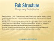 Tensile Structure In Gurgaon -Tensile Fabric Structure