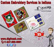 Custom Embroidery Services in Indiana