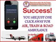Medical Transport Service by Air Ambulance Service in Guwahati