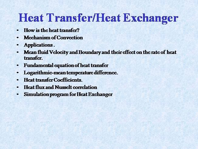 Heat exchanger |authorstream.