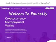 How to create faucet using Faucet.ly