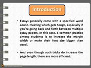 10 Excellent Tips To Write An Essay