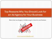 Top Reasons Why You Should Look for an Ad Agency for Your Business - 1