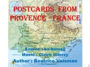 Postcards  from Provence - France