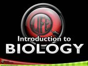 1-Intro to Biology