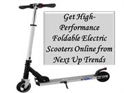Get High-Performance Foldable Electric Scooters Online