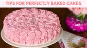 Tips for perfectly baked deserts