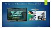 Why to get your TV Repaired instead of buying a new one?