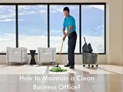 Important Tips to keep your office clean
