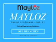 mayloz online clothing & jewelry at best prices