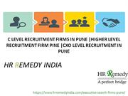 c level recruitment | higher level recruitment | cxo level recruitment