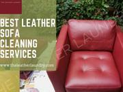 Best Leather Sofa Cleaning Services