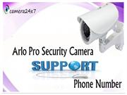TollFree Dial for all camera issues at Arlo Pro Camera Support number