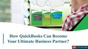 How QuickBooks can be your ultimate business partner? | Cloudwalks