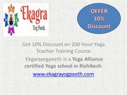Yoga Course Rishikesh