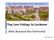 Top Law College in Lucknow | Best Law college in Lucknow