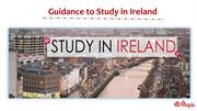 Guidance to Study in Ireland