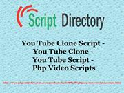 YouTube Clone Script, YouTube Clone, YouTube Script, Php Video Scripts