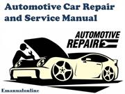 Automotive Car Repair and Service Manual- Emanualonline