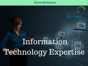 Practical Solution For Technology Functions | Sirius Solutions