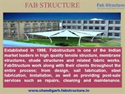 Tensile Structure Manufacturer In Chandigarh