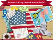 Overseas Study Consultants In Delhi