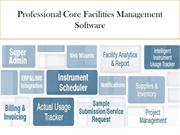 Professional Core Facilities Management Software