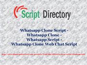Whatsapp Clone Script - Whatsapp Clone - Whatsapp Script - Whatsapp Cl