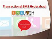 Transactional SMS Hyderabad, Transactional Bulk SMS services Hyderabad