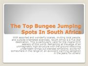 The Top Bungee Jumping Spots In South Africa