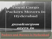 Goyal Cargo Packers and movers Hyderabad to Pune