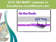ECO 365 MART Lessons in Excellence--eco365mart.com