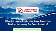 Layered Lightning Surge Protection Devices Necessary For Every Industr