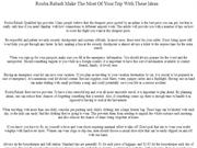 Rouba Rabadi Make The Most Of Your Trip With These Ideas