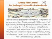 Control For Bedbugs Explained By Professionals