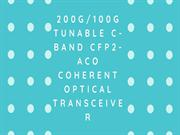 Tunable C-Band CFP2-ACO Coherent Optical Transceiver