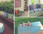 Affordable Outdoor Cushions for Your Bench Seating