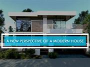 A New Perspective of a Modern House