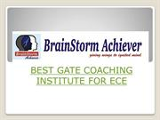 Best GATE coaching for ECE