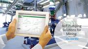 IoT Industrial Solution in Mining by Pump Monitoring & Maintenance
