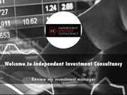 Independent Investment Consultancy Presentation